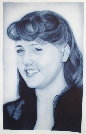 Airbrushed Portrait