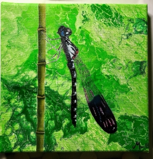 Dragonfly on Canvas
