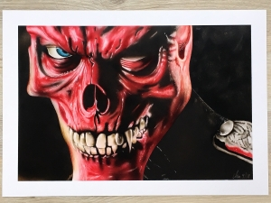 Red Skull from the movie Captain America